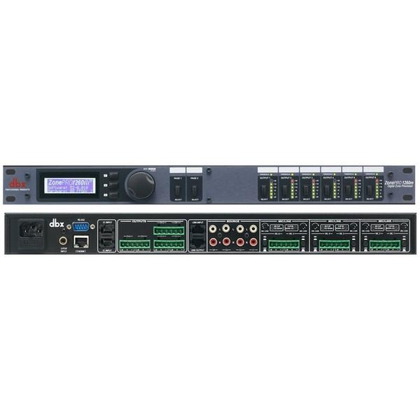 Контроллер/Аудиопроцессор dbx ZonePRO 1260m