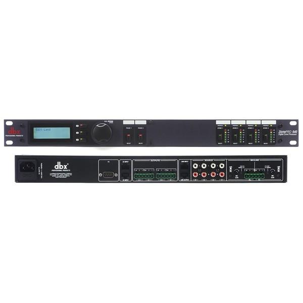 лучшая цена Контроллер/Аудиопроцессор dbx ZonePRO 640