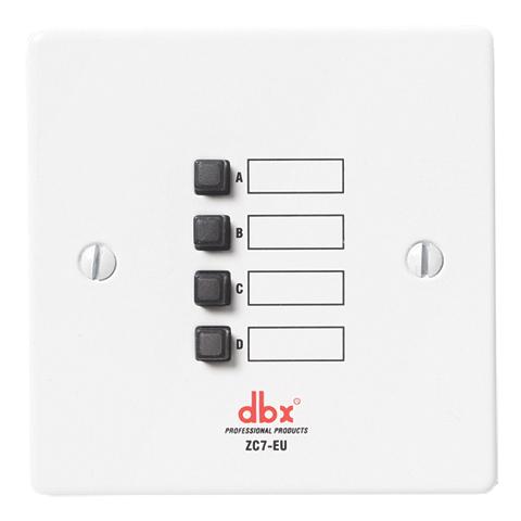 Панель управления dbx ZC-7