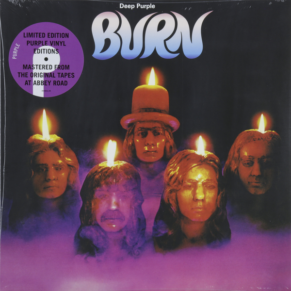 Deep Purple - Burn (colour)
