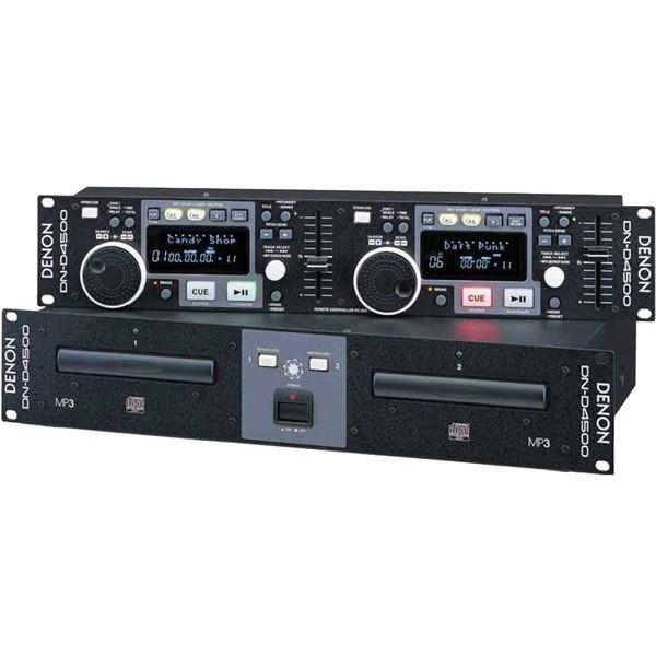 Фото - DJ CD проигрыватель Denon DN-D4500 профессиональный проигрыватель denon dn 500bd