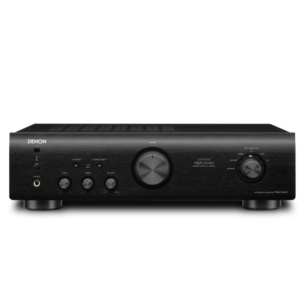 лучшая цена Стереоусилитель Denon PMA-520AE Black
