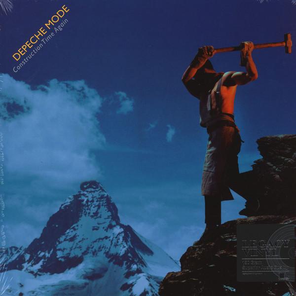 Depeche Mode Depeche Mode - Construction Time Again (180 Gr) depeche mode depeche mode cover me remixes 2 lp 180 gr