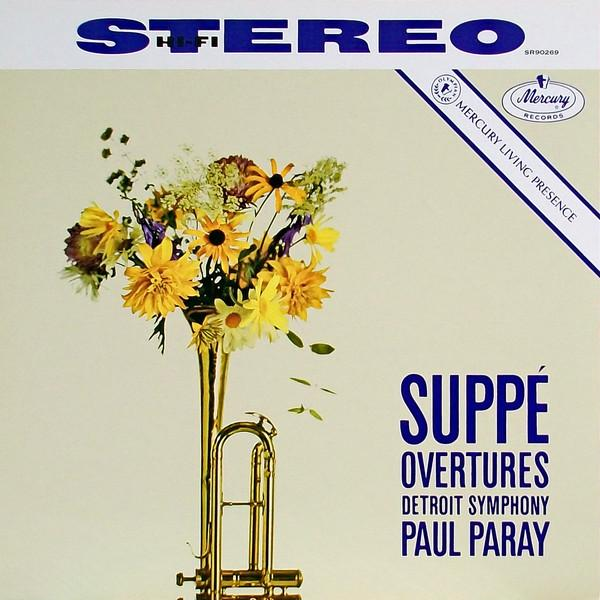 Suppe, Detroit Symphony, Paul Paray - Suppe Overtures