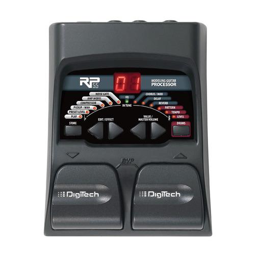 Гитарный процессор Digitech RP55 zoom g5n black процессор эффектов для электрогитары