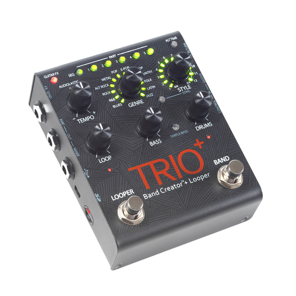 Педаль эффектов Digitech TRIO+ педаль эффектов fender engager boost pedal