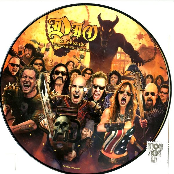 DIO Friends - stand Up Shot For Cancer (picture Disc)