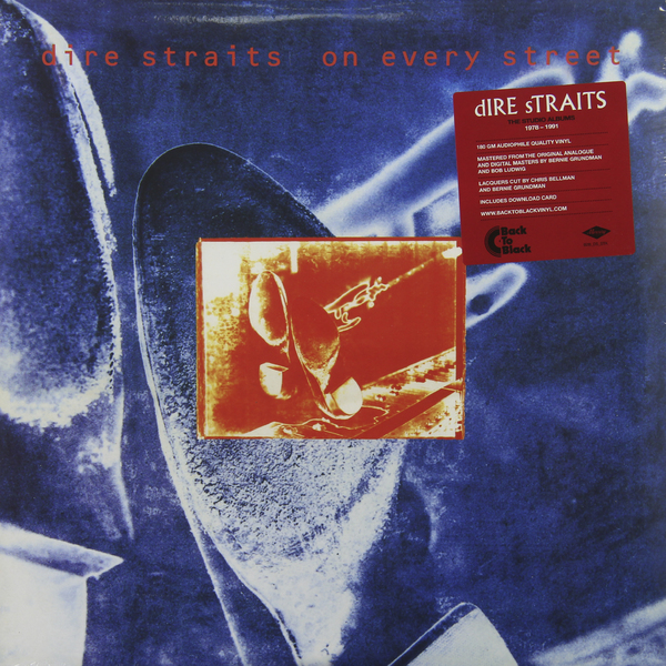 лучшая цена Dire Straits Dire Straits - On Every Street (2 Lp, 180 Gr)