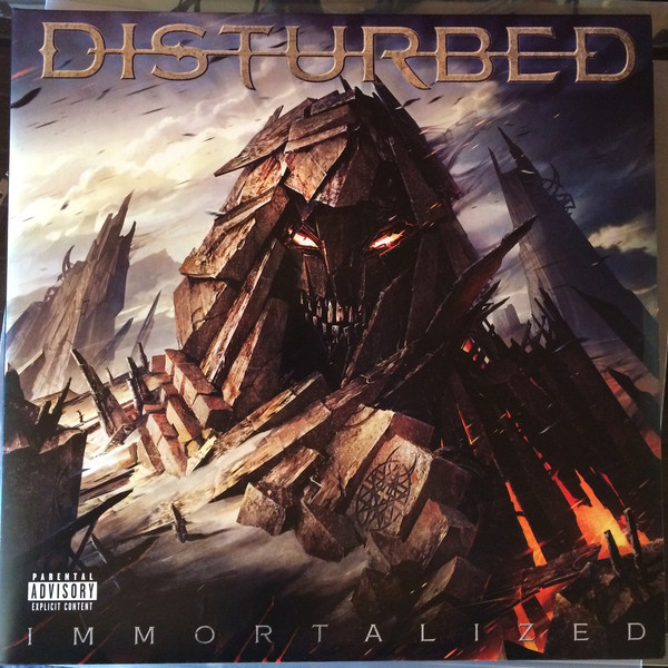 цена на Disturbed Disturbed - Immortalized (2 LP)