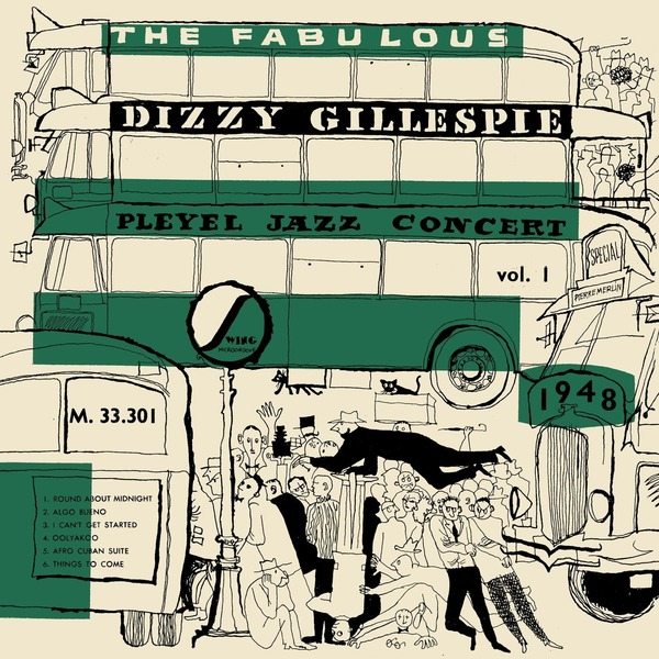 Dizzy Gillespie - Pleyel Jazz Concert 1948 (colour)