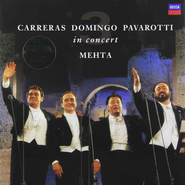 Pavarotti, Carreras, Domingo - The Three Tenors