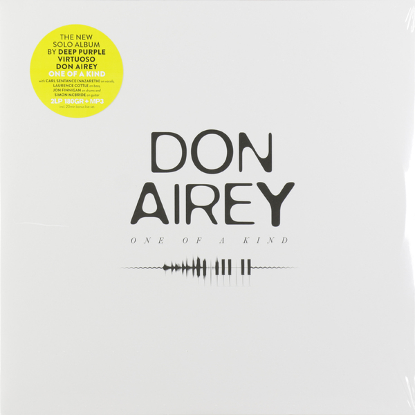 Don Airey Don Airey - One Of A Kind (2 Lp, 180 Gr) 3 of a kind