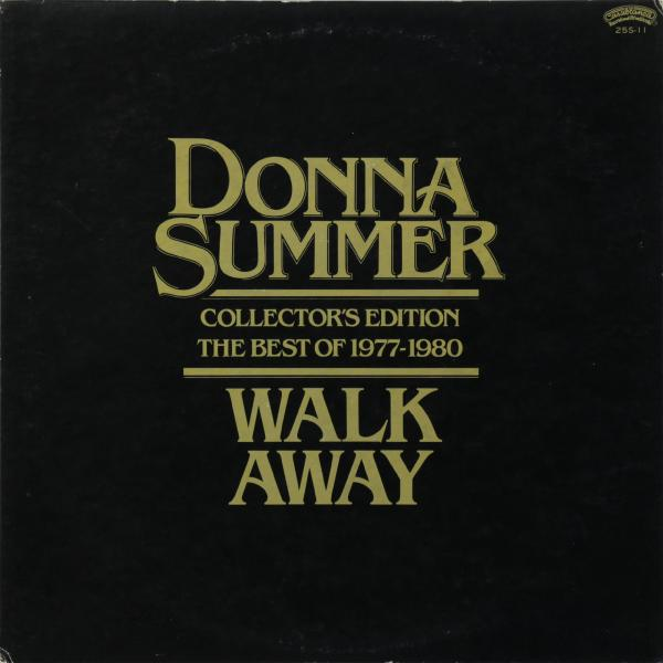 Donna Summer Donna Summer - Walk Away Collector's Edition (the Best Of 1977-1980) (japan Original. 1st Press. Promo) (винтаж) genesis genesis invisible touch japan original 1st press винтаж