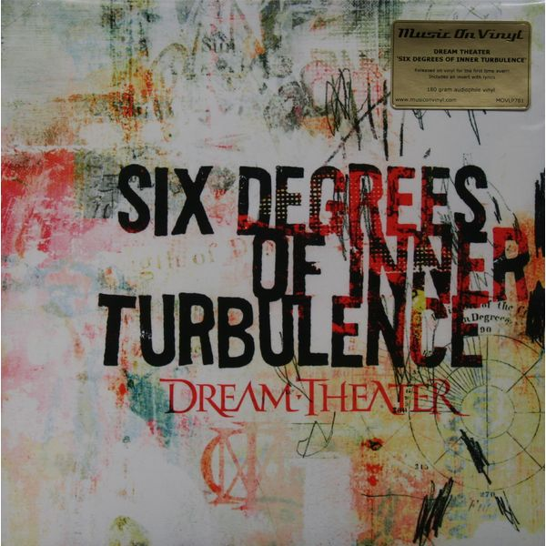 Dream Theater Dream Theater - Six Degrees Of Inner Turbulence (2 Lp, 180 Gr) цена и фото