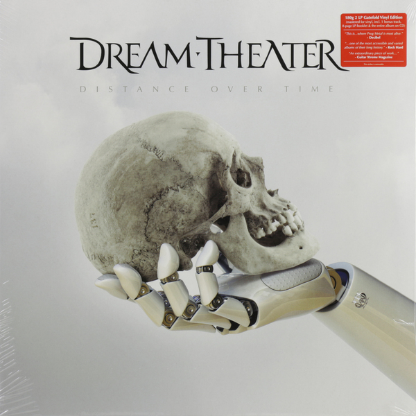 Dream Theater Dream Theater - Distance Over Time (2 Lp+cd) dream evil dream evil the book of heavy metal lp cd