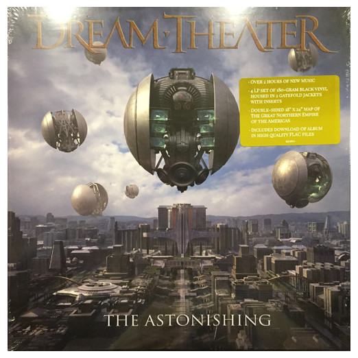 Dream Theater Dream Theater - The Astonishing (4 LP) dream evil dream evil the book of heavy metal lp cd
