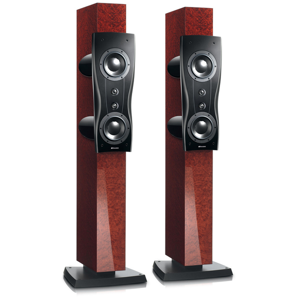 Напольная акустика Dynaudio Confidence Platinum C2 Bordeaux High Gloss центральный громкоговоритель dynaudio confidence platinum center mocca high gloss