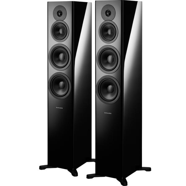 все цены на Напольная акустика Dynaudio Evoke 50 Black High Gloss онлайн