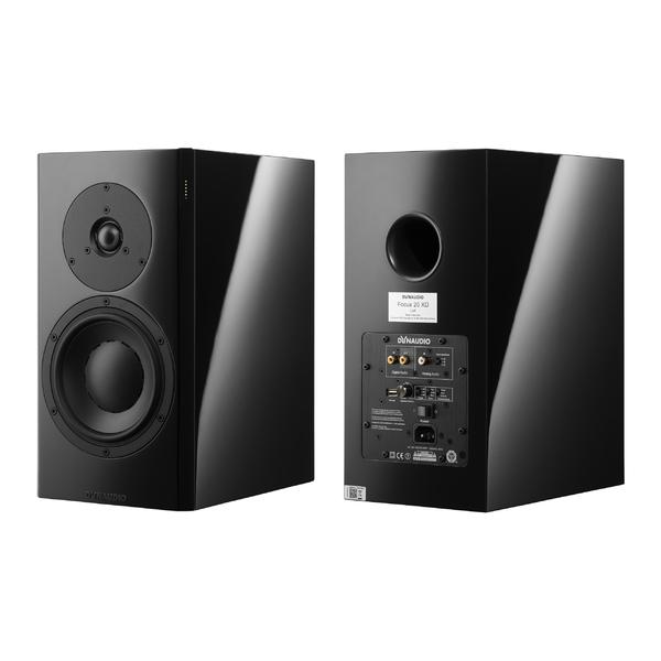 Активная полочная акустика Dynaudio Focus 20 XD Black Piano Lacquer