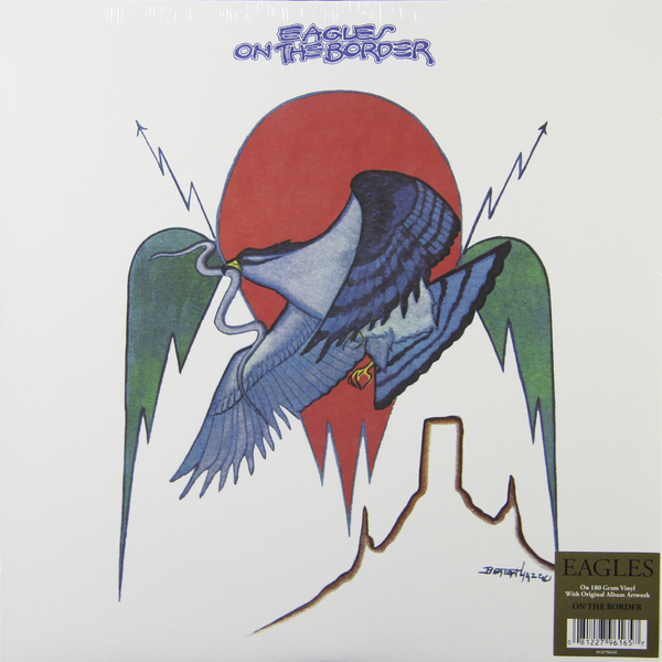 Eagles Eagles - On The Border (180 Gr) цена