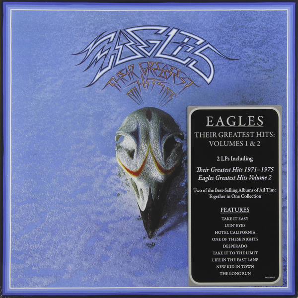 Eagles Eagles - Their Greatest Hits Volumes 1 2 (2 LP) female vocal club hits 2 cd