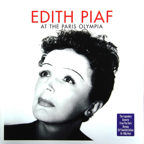 Edith Piaf - At The Paris Olympia (2 Lp, 180 Gr)