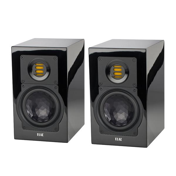 Полочная акустика ELAC BS 243.3 High Gloss Black активная полочная акустика elac navis arb 51 high gloss black
