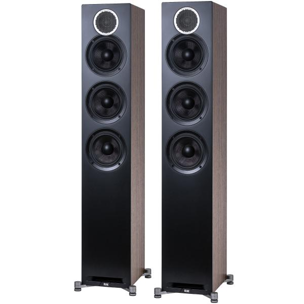 Напольная акустика ELAC Debut Reference DFR52 Black Wood