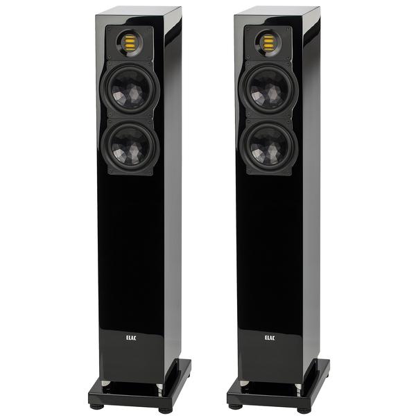 Напольная акустика ELAC FS 247.3 High Gloss Black цена 2017