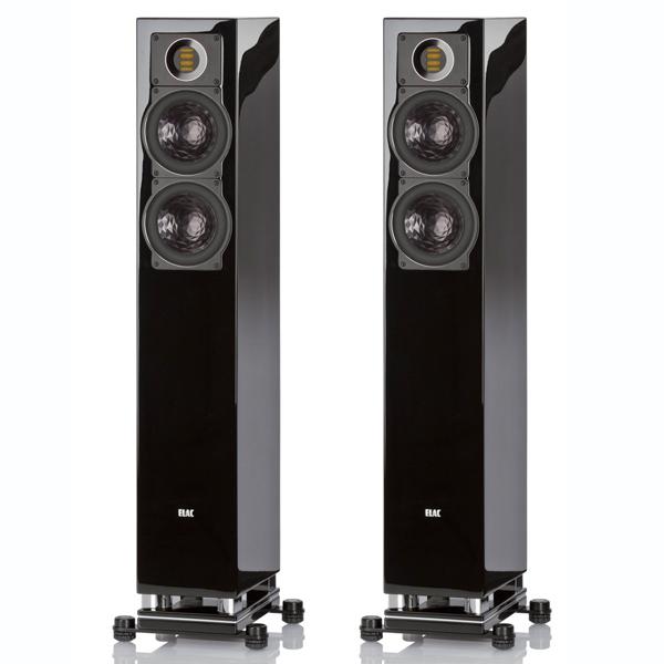 Напольная акустика ELAC FS 407 High Gloss Black цена 2017