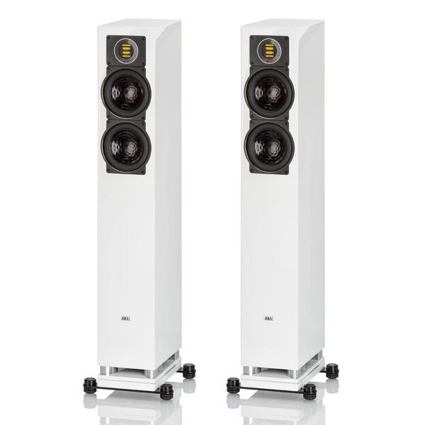 Напольная акустика ELAC FS 407 High Gloss White цена и фото