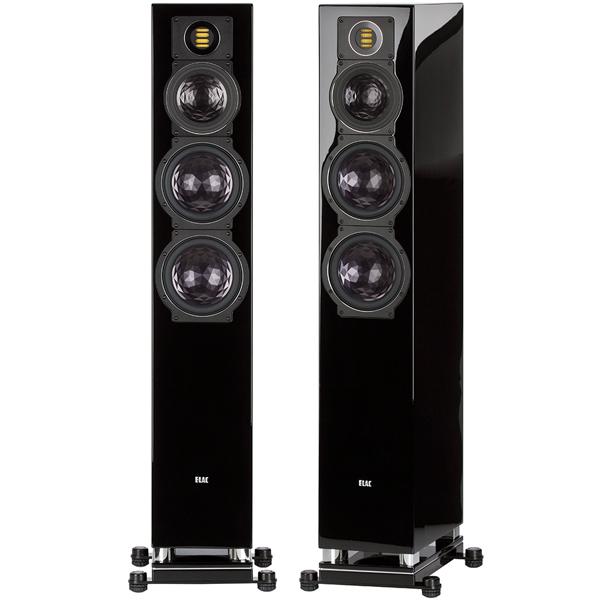 Напольная акустика ELAC FS 409 High Gloss Black цена 2017