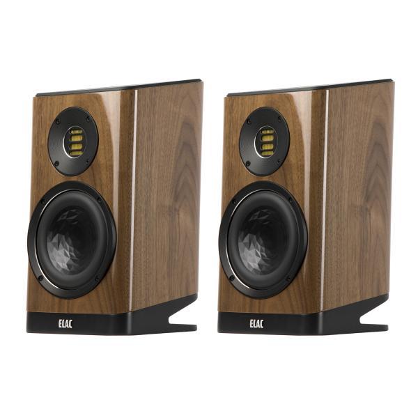Полочная акустика ELAC Vela BS 403 High Gloss Walnut активная полочная акустика elac navis arb 51 high gloss black