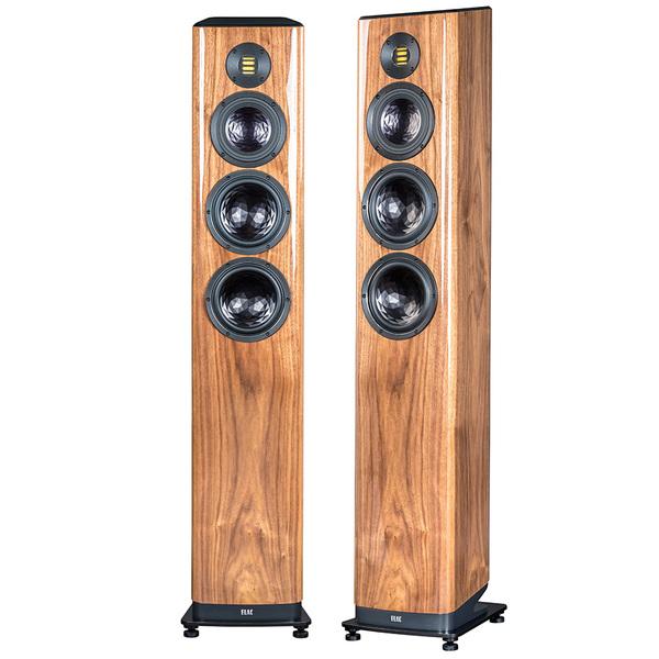 Напольная акустика ELAC Vela FS 409 High Gloss Walnut