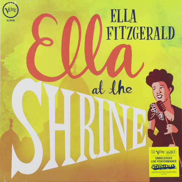 Ella Fitzgerald Ella Fitzgerald - Ella At The Shrine: Prelude To Zardi's (colour) виниловая пластинка louis armstrong ella fitzgerald ella louis