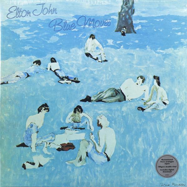Elton John Elton John - Blue Moves (2 Lp, 180 Gr) цена и фото