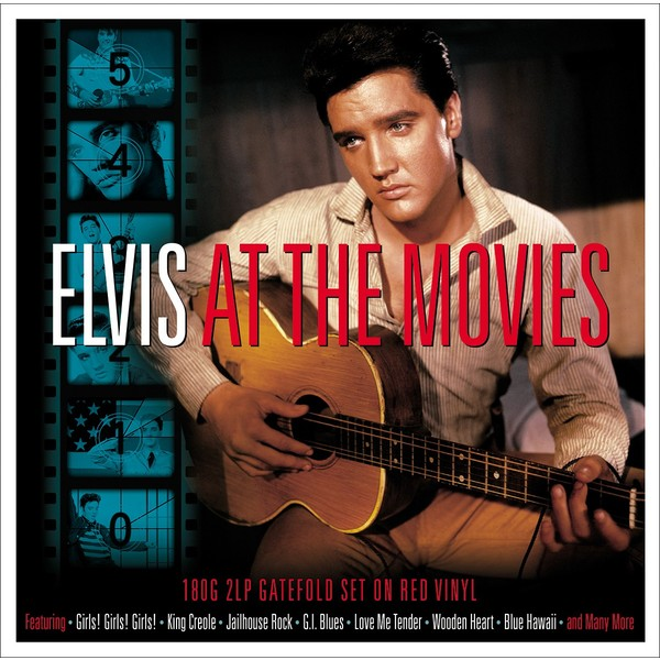 Elvis Presley - At The Movies (2 Lp, Colour)