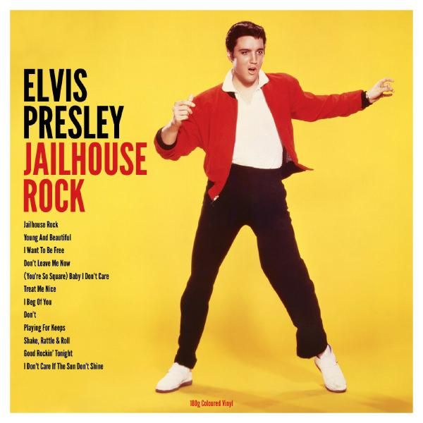 Elvis Presley - Jailhouse Rock (colour)