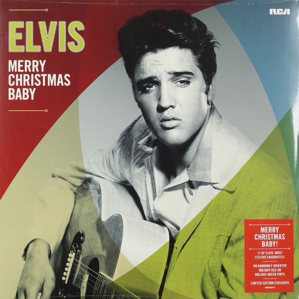 Elvis Presley Presley-merry Christmas Baby