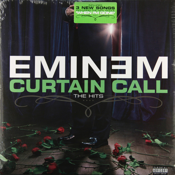 цена на Eminem Eminem - Curtain Call: The Hits (2 LP)