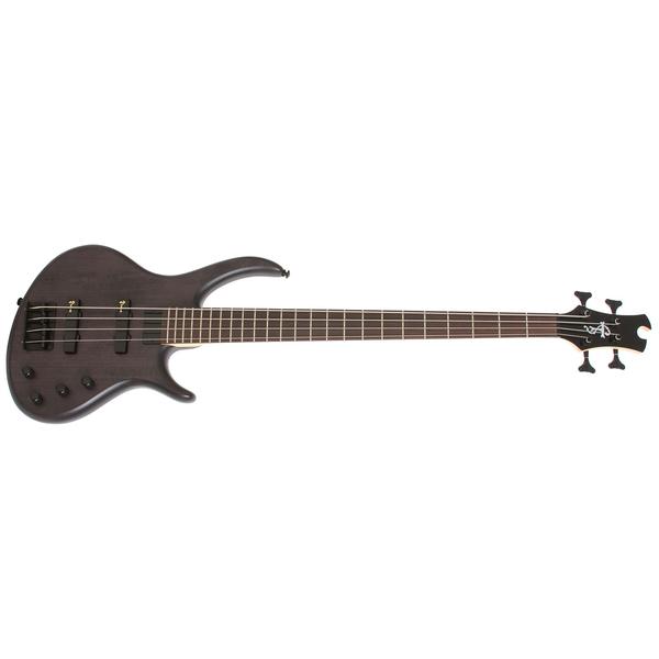 Бас-гитара Epiphone Toby Deluxe IV Bass Trans Black цена и фото