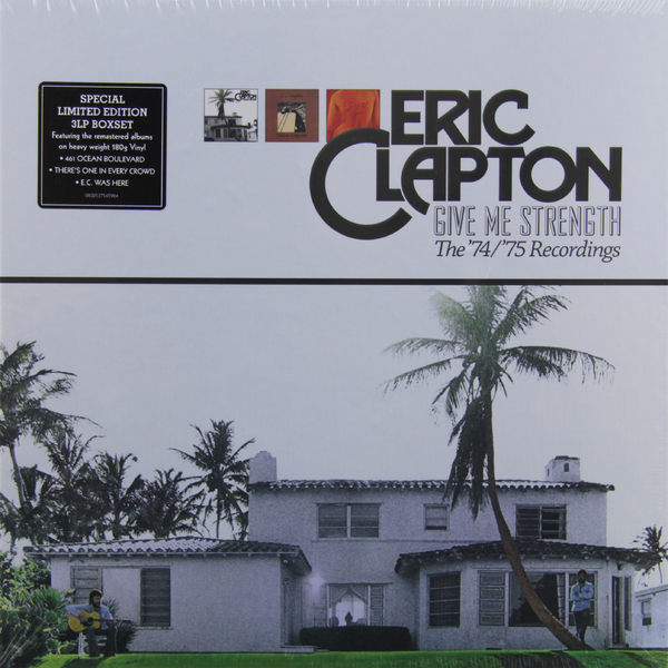 Eric Clapton Eric Clapton - Give Me Strength (3 LP) цена и фото
