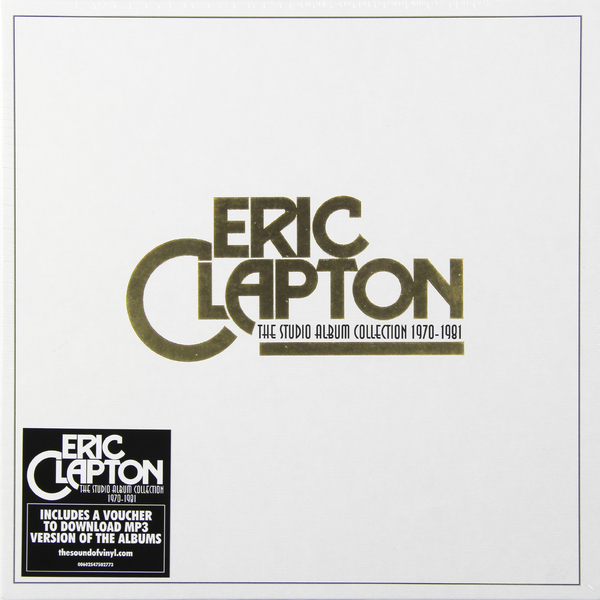 лучшая цена Eric Clapton Eric Clapton - The Studio Album Collection (box Set)
