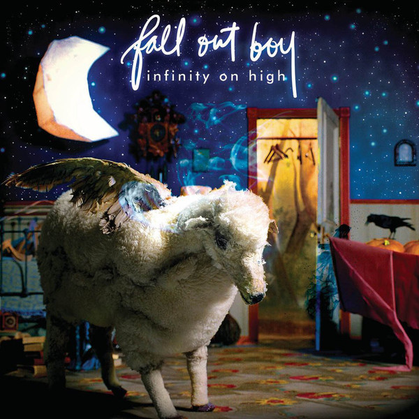 Fall Out Boy Fall Out Boy - Infinity On High (2 LP) cold shoulder high neck cut out asymmetric tee