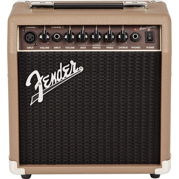Гитарный комбоусилитель Fender ACOUSTASONIC 15 COMBO