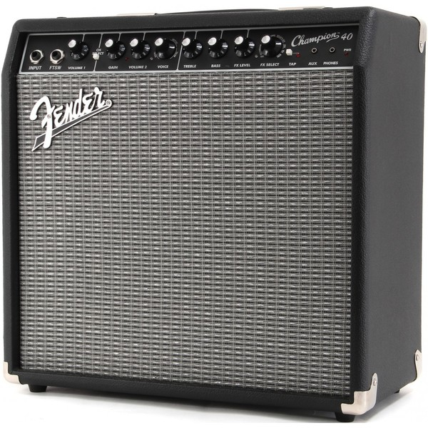 лучшая цена Гитарный комбоусилитель Fender CHAMPION 40