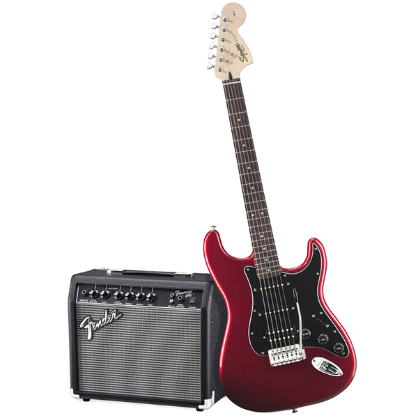 Гитарный комплект Fender Affinity Series Stratocaster HSS Pack Candy Apple Red