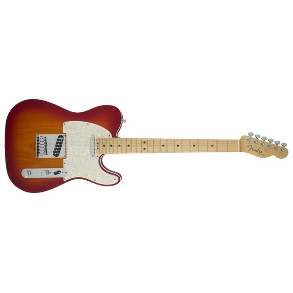 цены Электрогитара Fender American Elite Telecaster MN Aged Cherry Burst