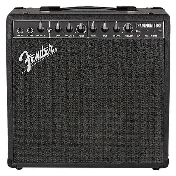 лучшая цена Гитарный комбоусилитель Fender Champion 50XL
