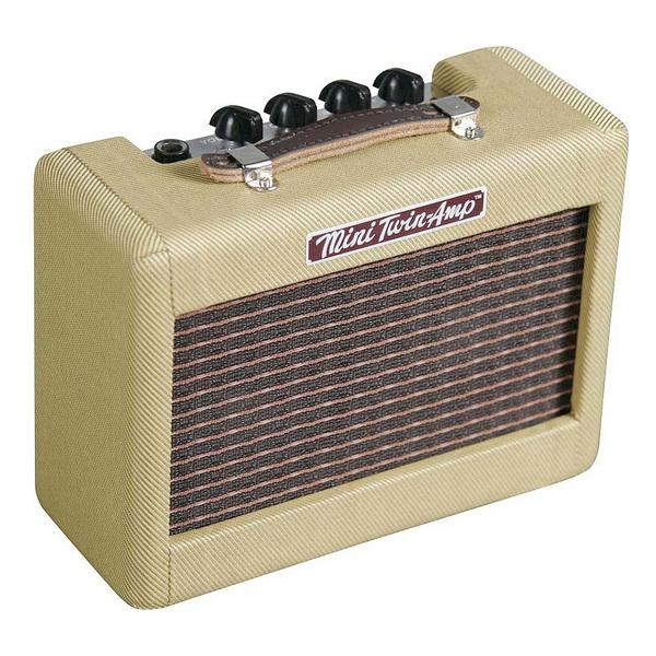 лучшая цена Гитарный мини-усилитель Fender Гитарный мини-комбоусилитель MINI '57 TWIN-AMP